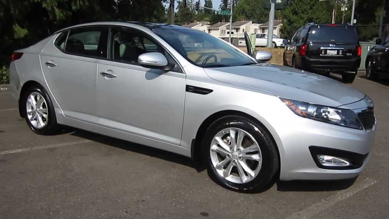 2013 Kia Optima, Bright Silver Metallic - STOCK# 5207A - Walk around