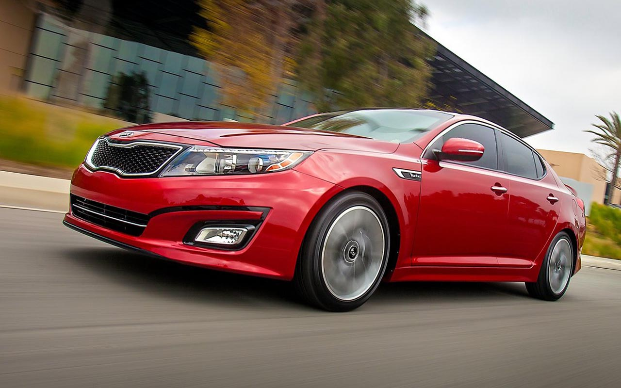 Kia Optima 2015 Red