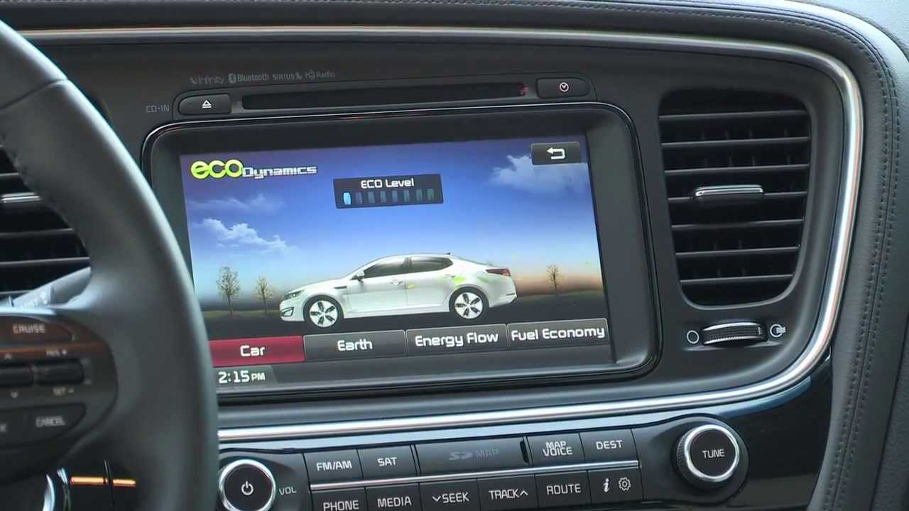 Kia Optima Interior 2015
