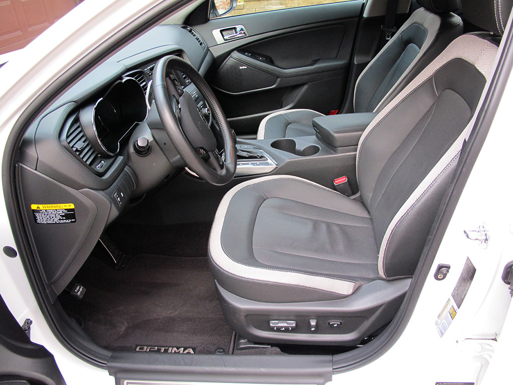 Kia Optima White Interior