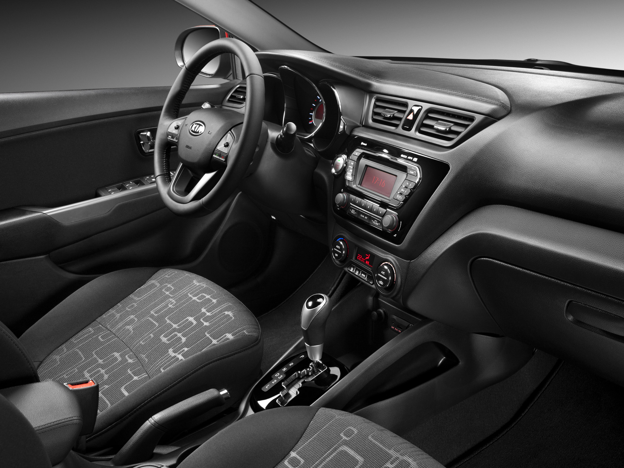 Kia Rio Sedan Interior