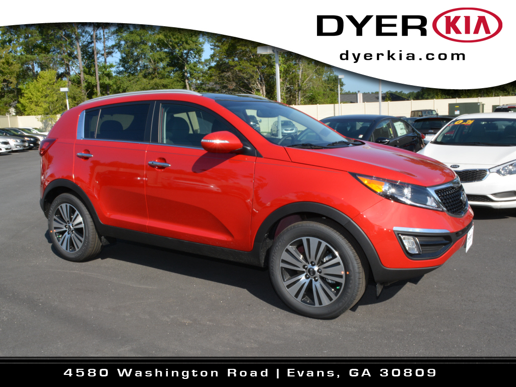 Kia Sportage 2015 Red