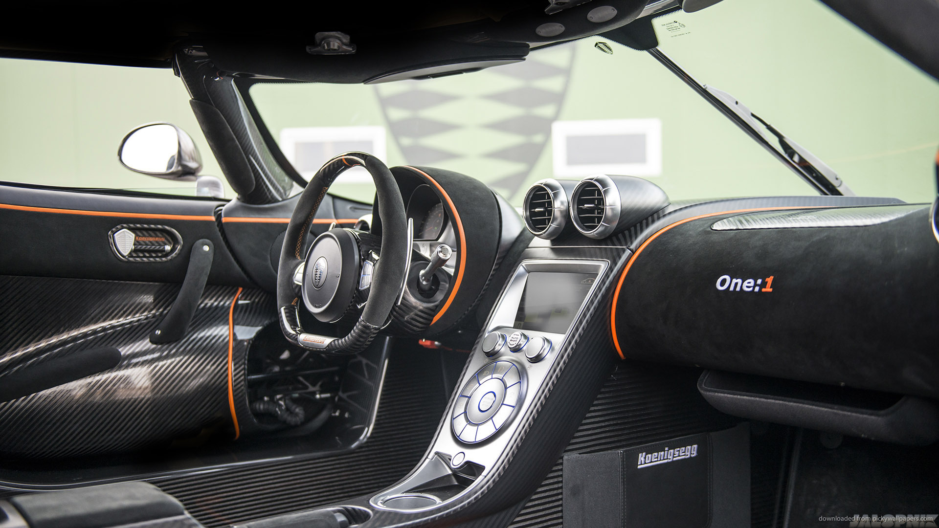 Koenigsegg Agera One Interior