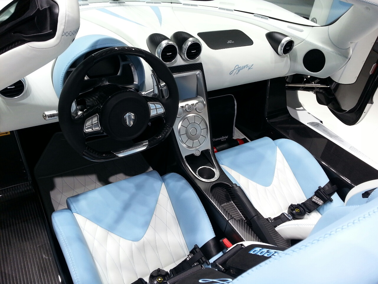 New Koenigsegg Agera Interior Overview