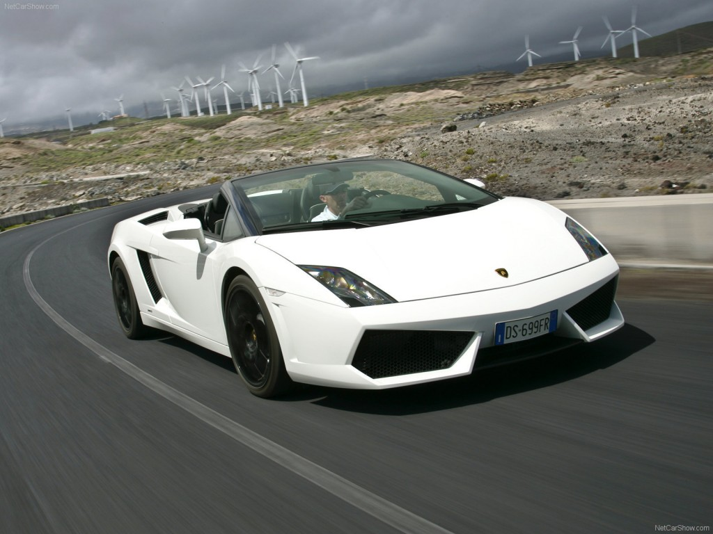 Lamborghini Gallardo Spyder 2014 Wallpaper