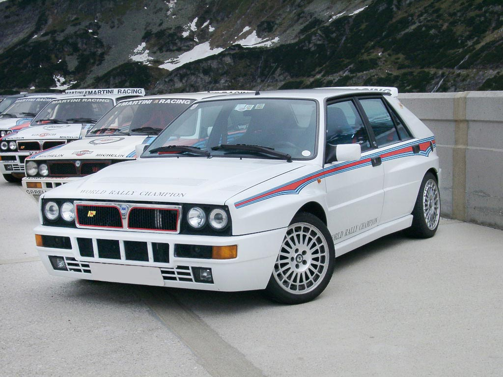 Lancia Delta Integrale Wallpaper 1024x768 15499