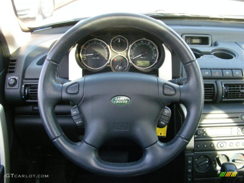 2004 Land Rover Steering Wheel