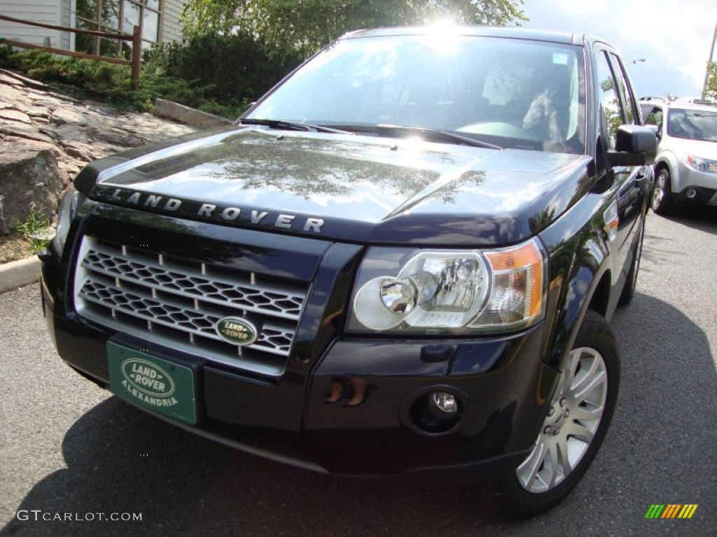 Land Rover LR2 2008 Black