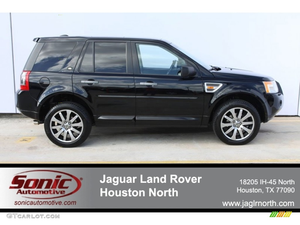 Land Rover LR2 Black