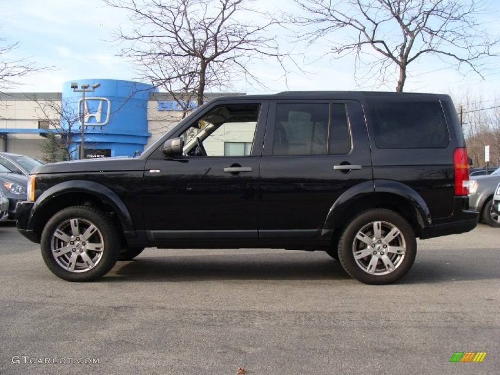 Land Rover LR3 Black