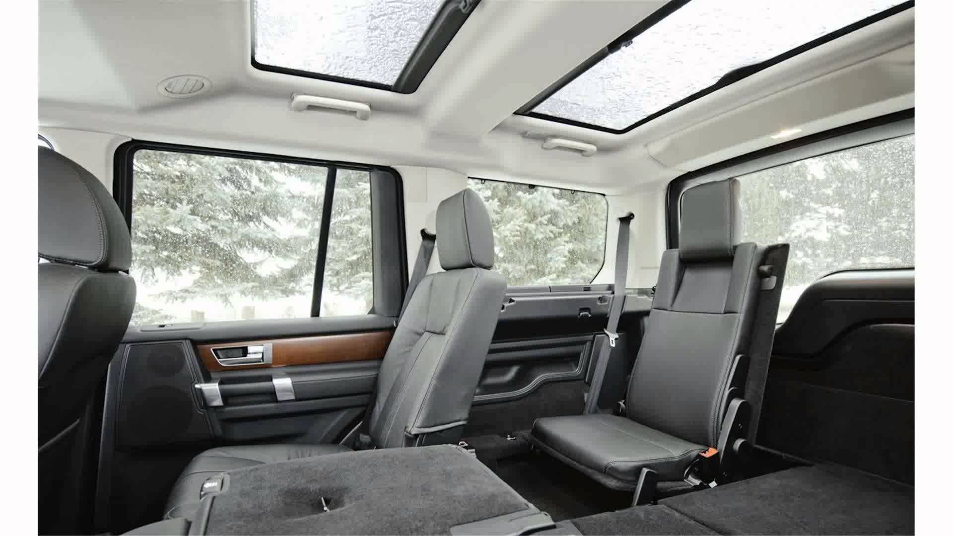 Land Rover LR4 Interior 2015