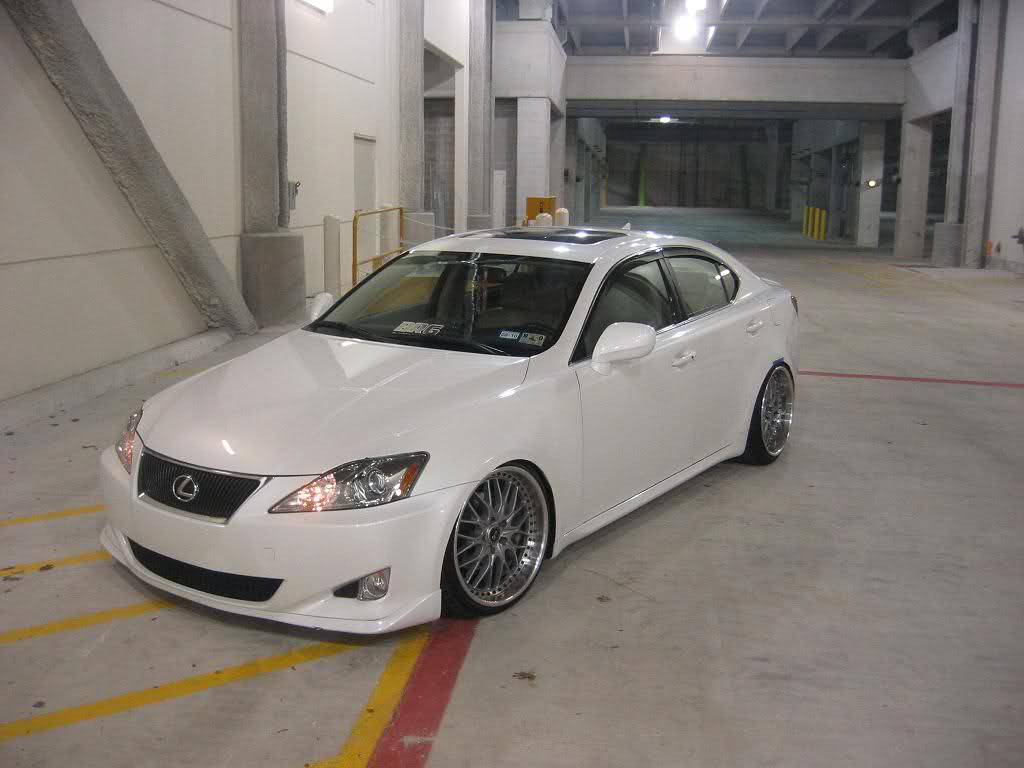 Lexus Is 250 2007 Slammed