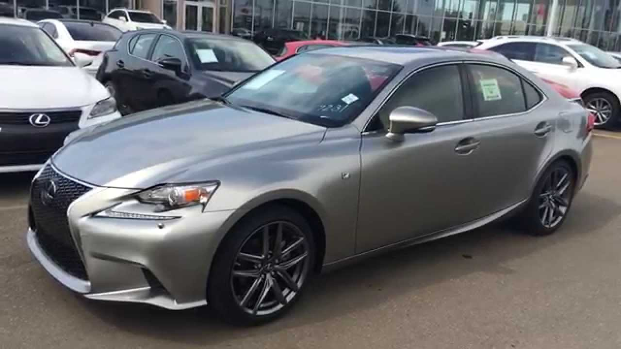 Lexus IS 250 2015 F Sport