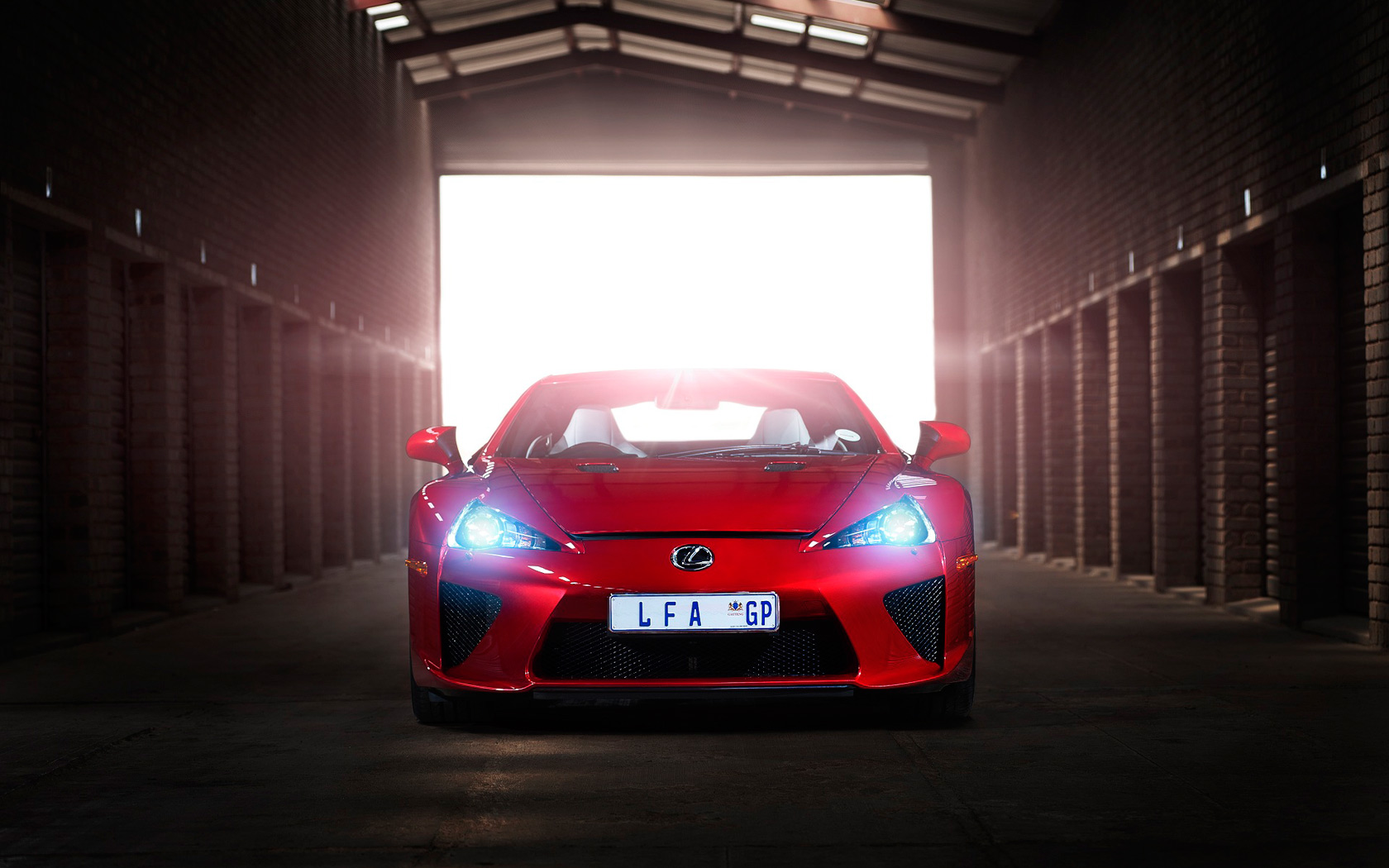 Lexus Lfa Black And Red