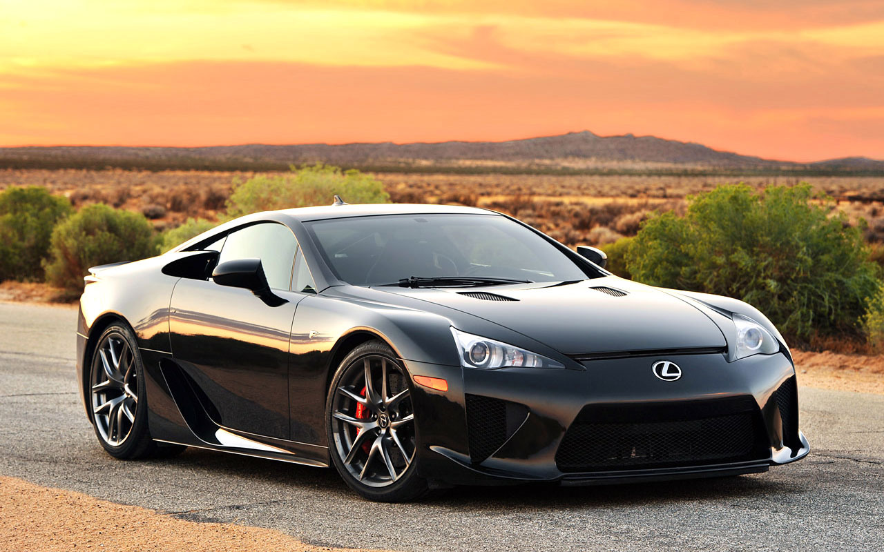 Lexus Lfa Supercar Wallpaper