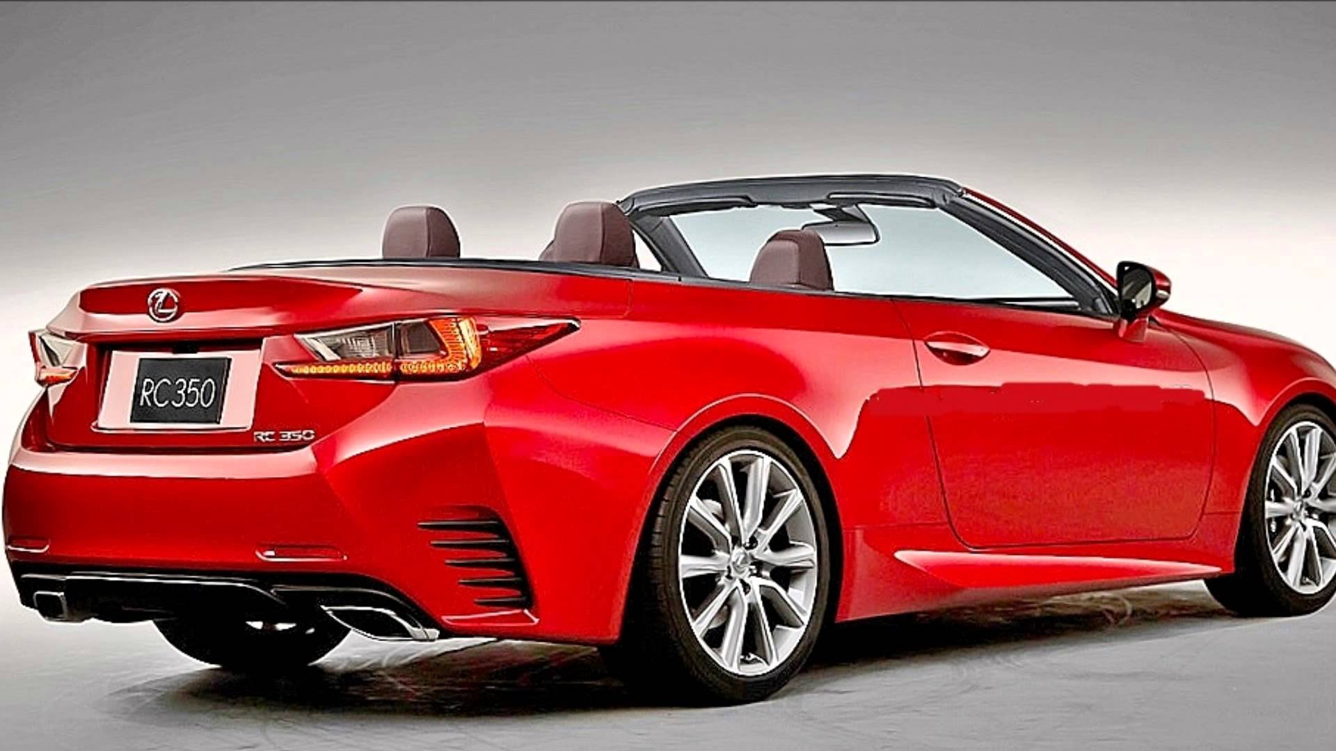 2015 Lexus RC Convertible
