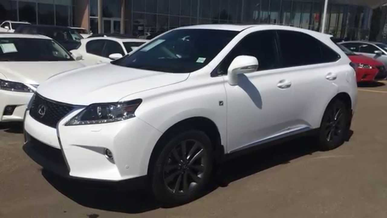 Brand New 2015 Lexus RX 350 AWD F Sport Package Review - Lexus of Edmonton