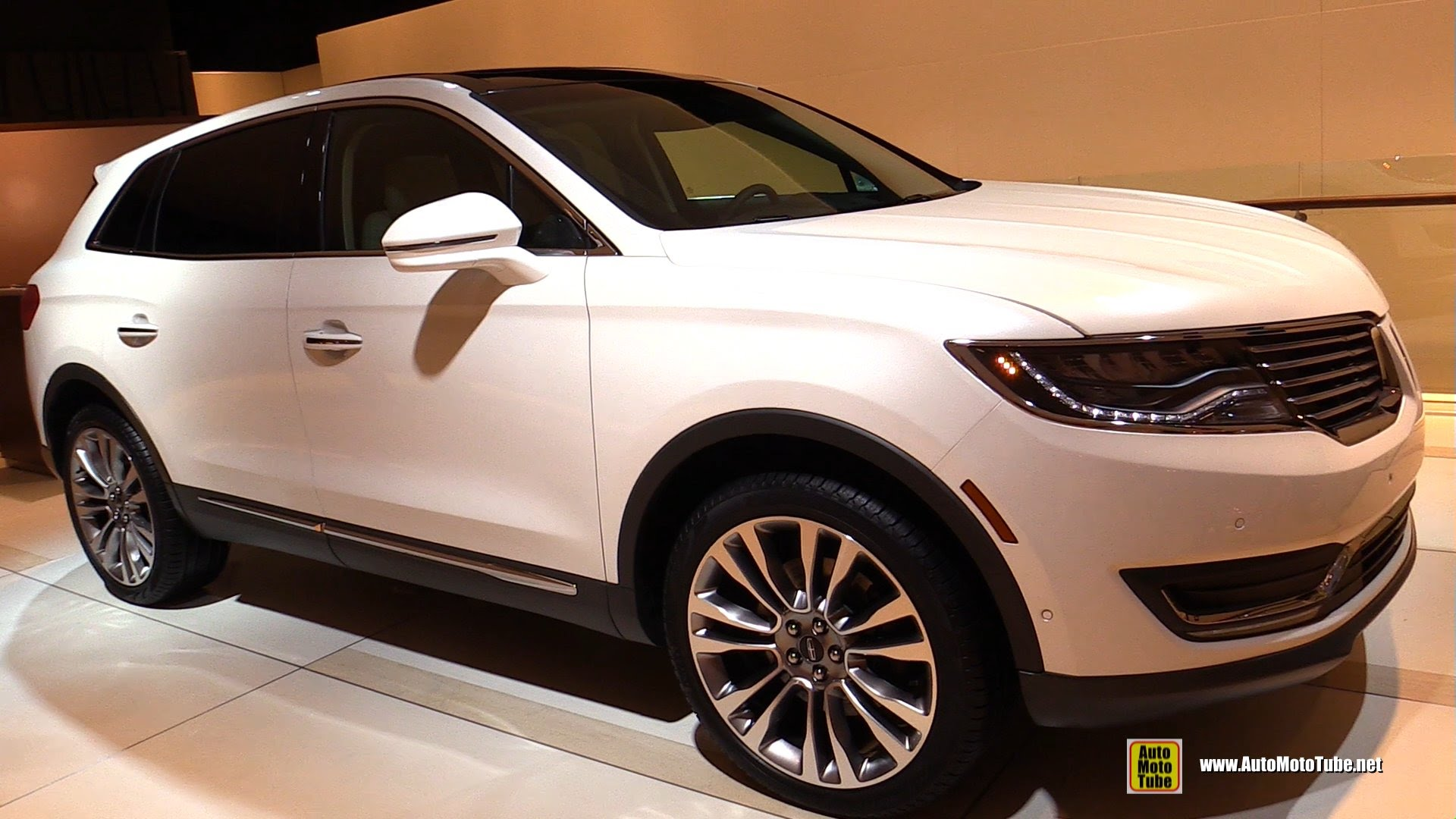 2016 Lincoln MKX EcoBoost - Exterior, Interior Walkaround - Debut at 2015 Detroit Auto Show