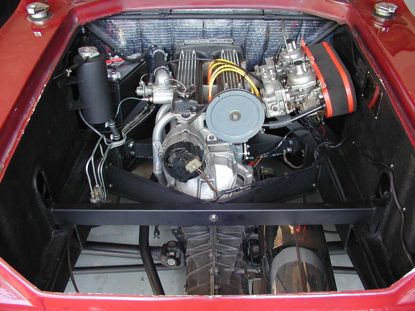Lotus Europa Engine