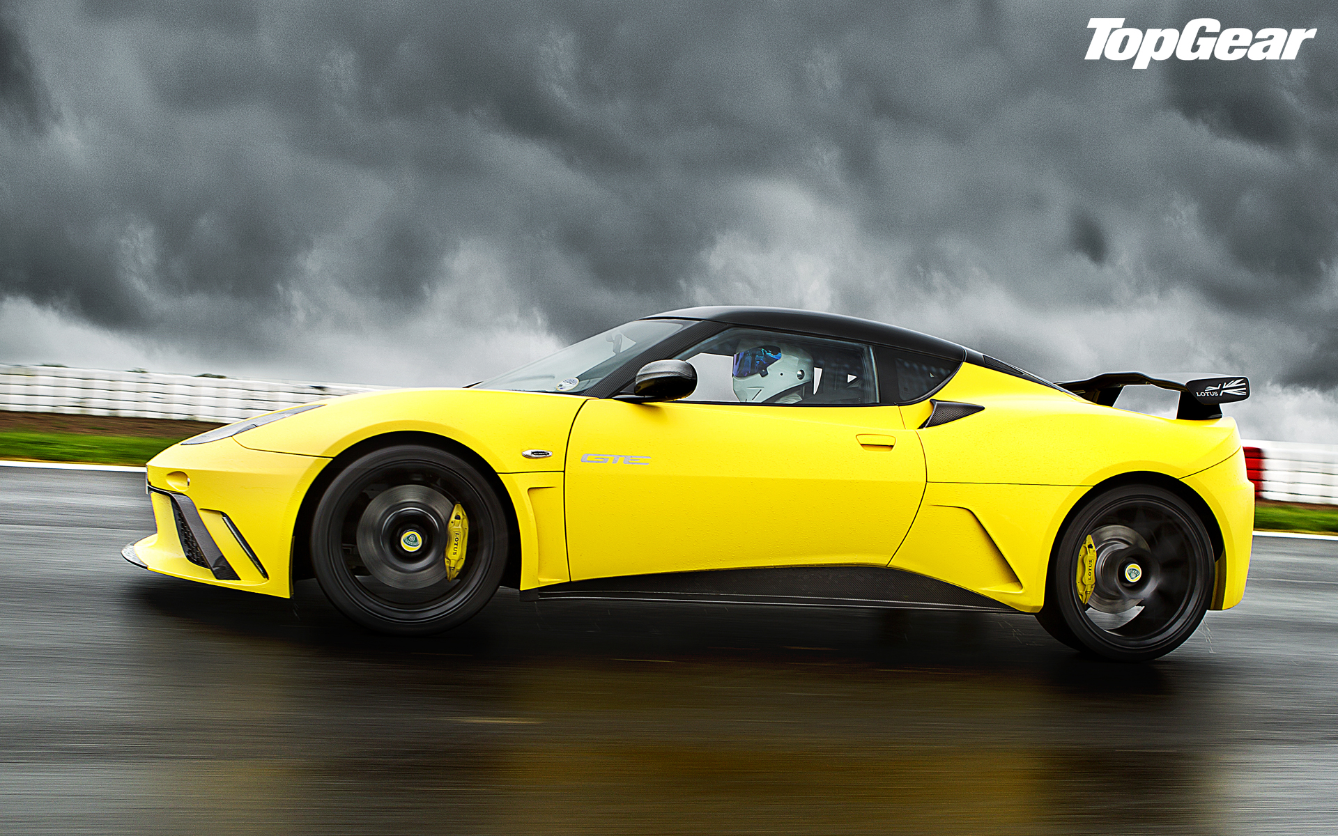 Lotus Evora Yellow