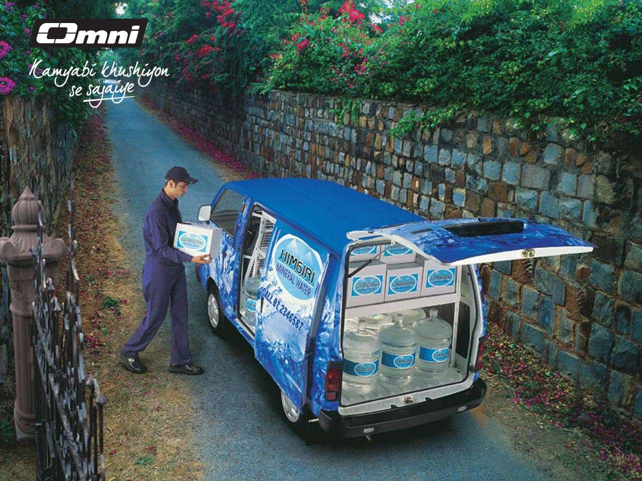 Maruti Omni Decoration