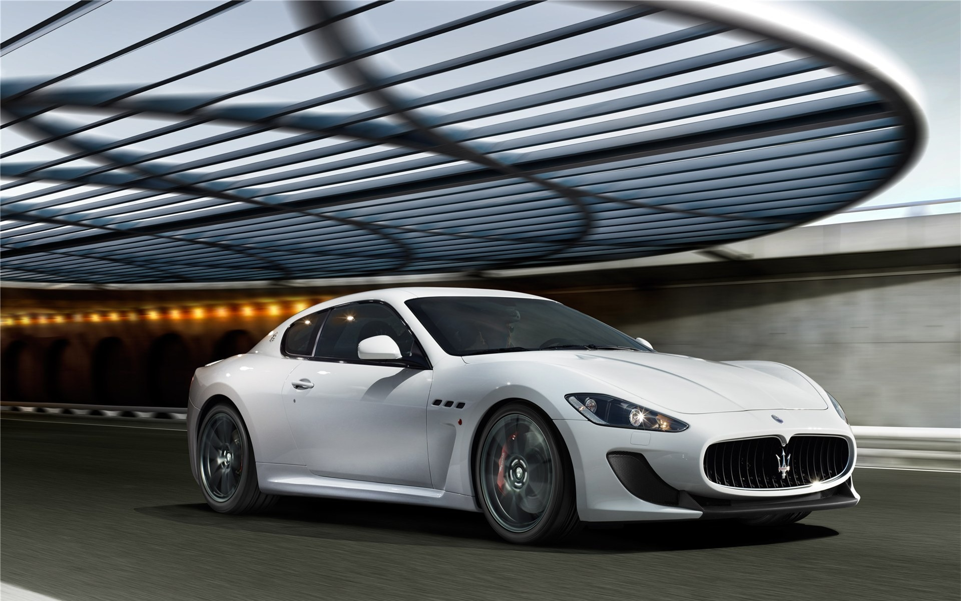 Maserati Coupe White
