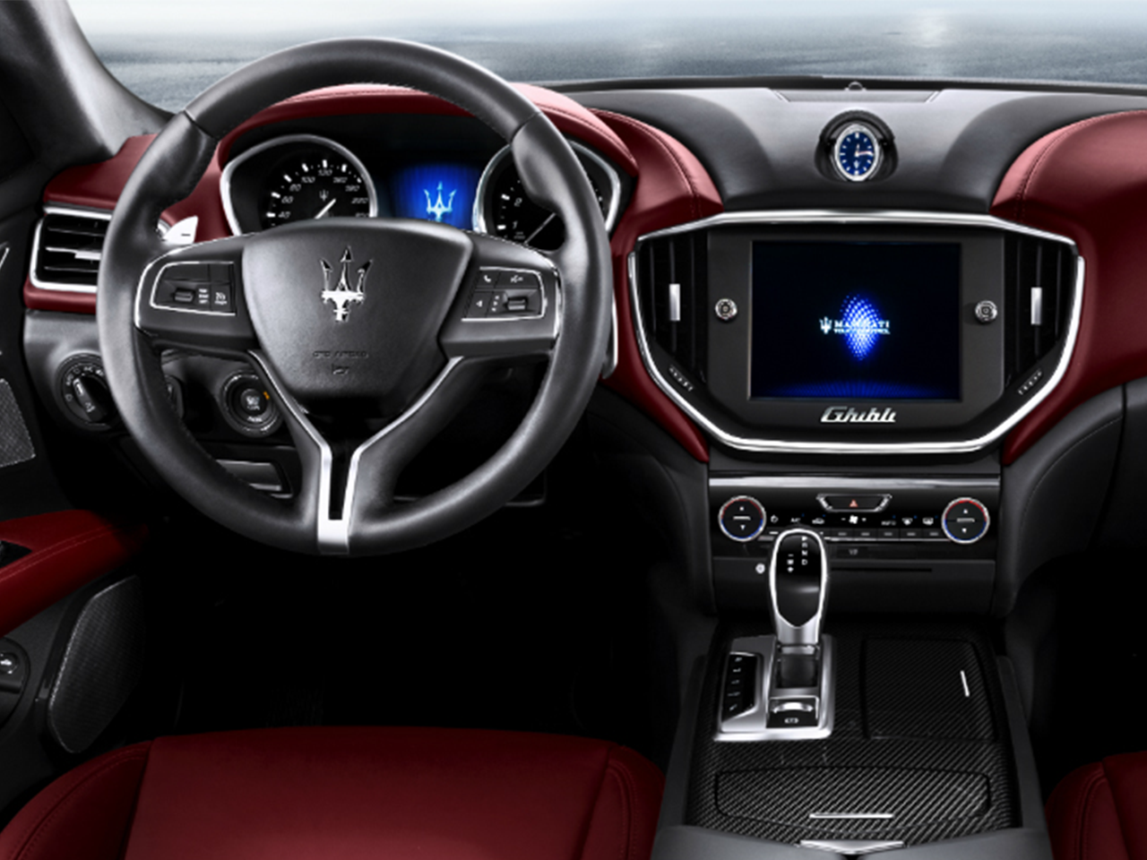 Interior View Of 2015 Maserati Ghibli in Tulsa