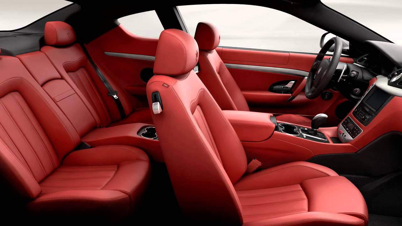 Maserati Ghibli Red Interior