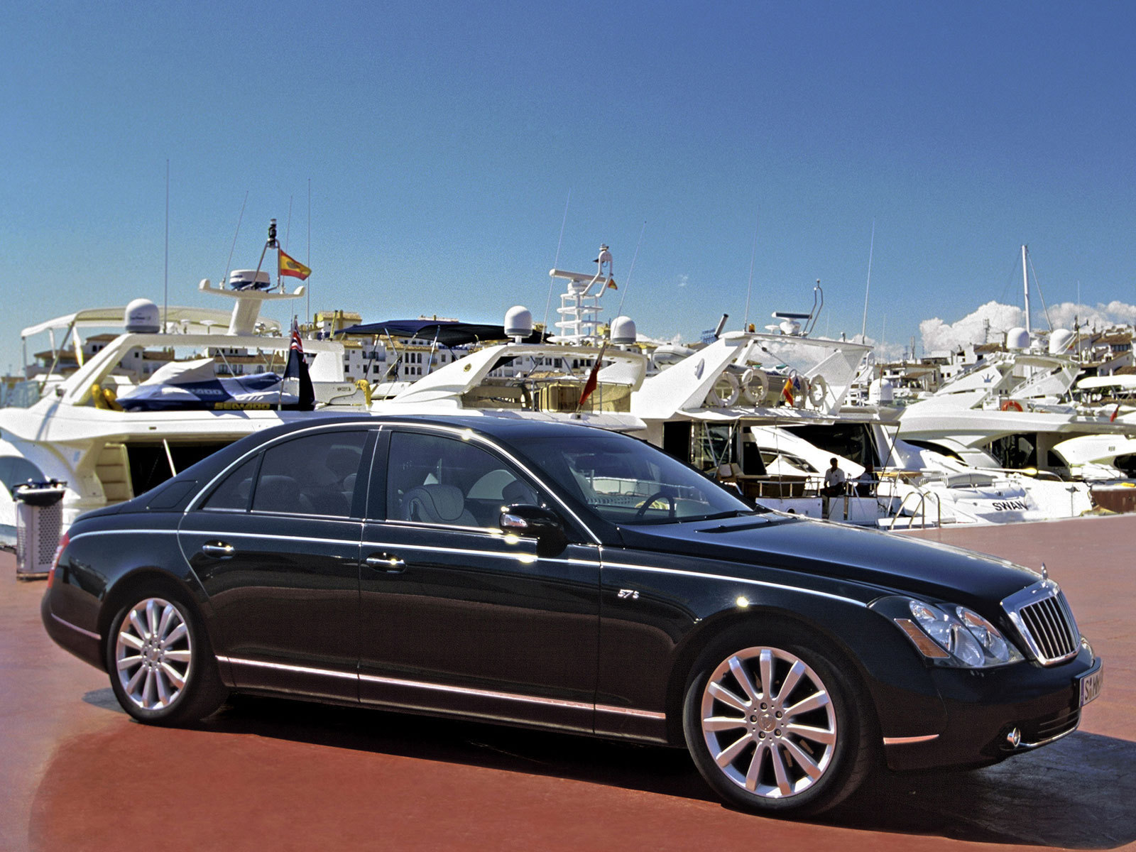 original wallpaper download: Photos of the car Maybach 57 - 1600x1200