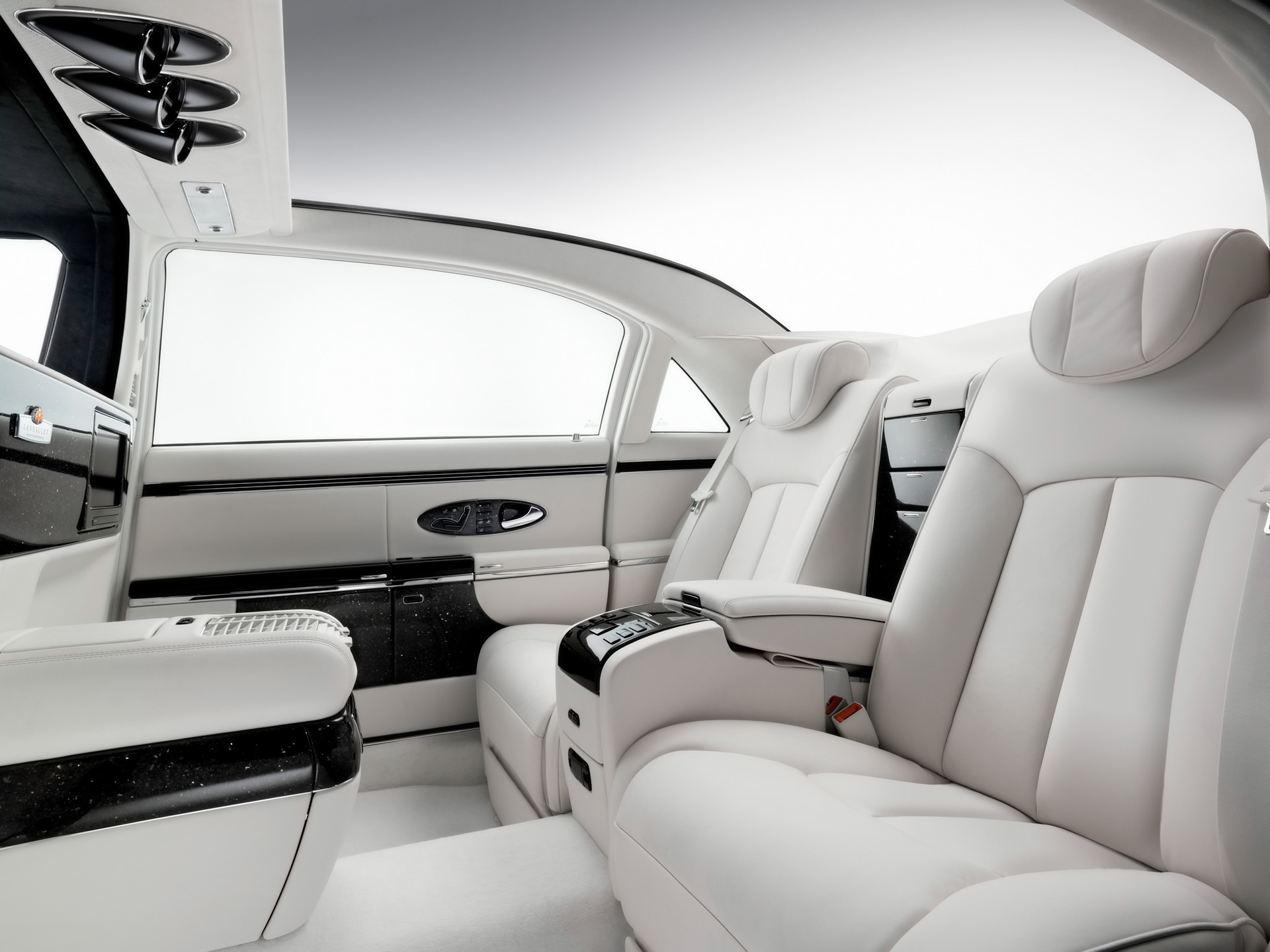 Maybach Landaulet Interior