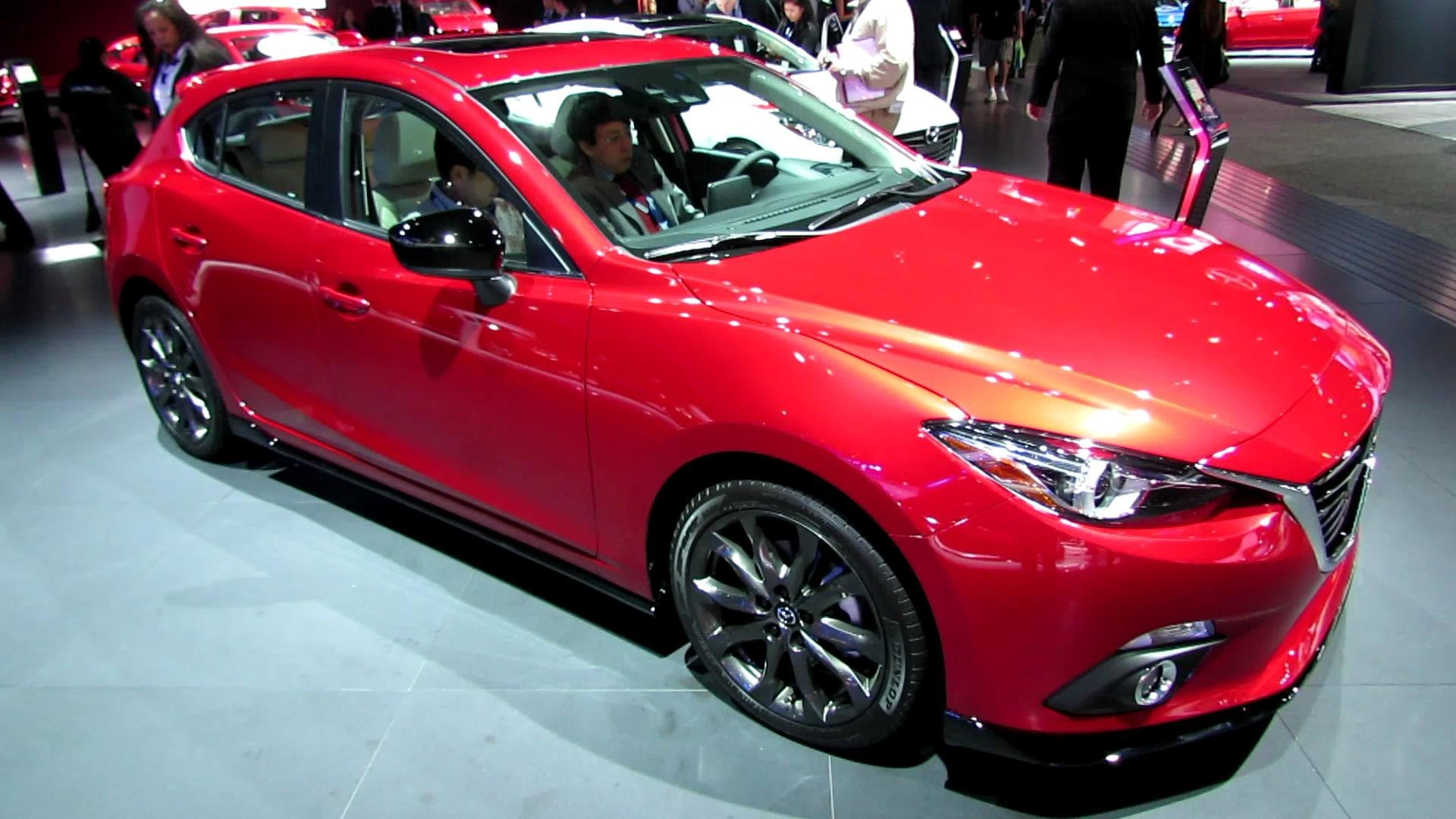 2014 Mazda 3 5-Door Hatchback Grand Touring - Exterior and Interior Walkaround - 2013 LA Auto Show