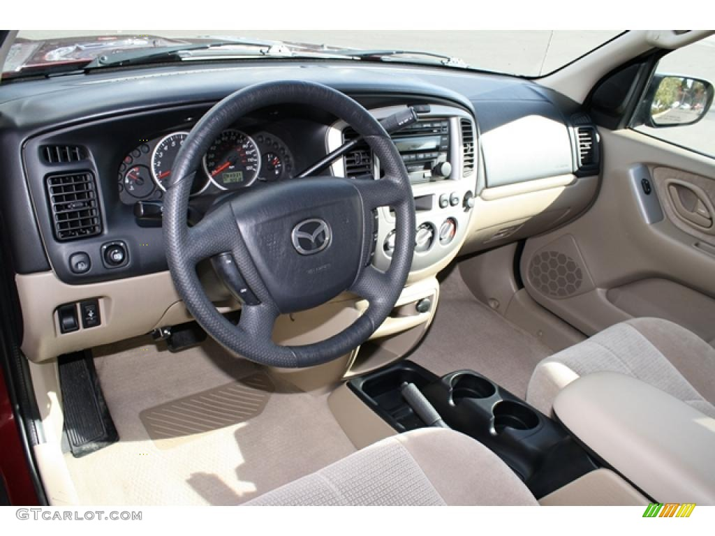 Mazda Tribute 2004 Interior