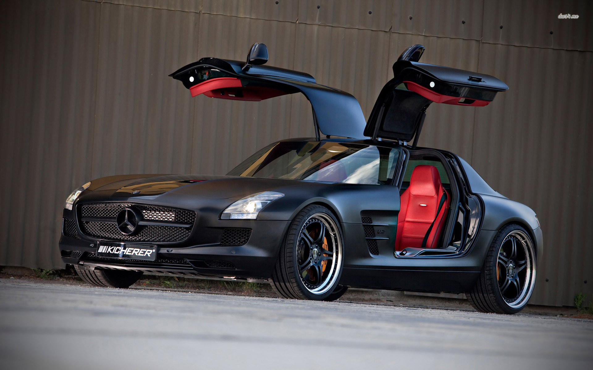 Mercedes SLS AMG Black Series Black