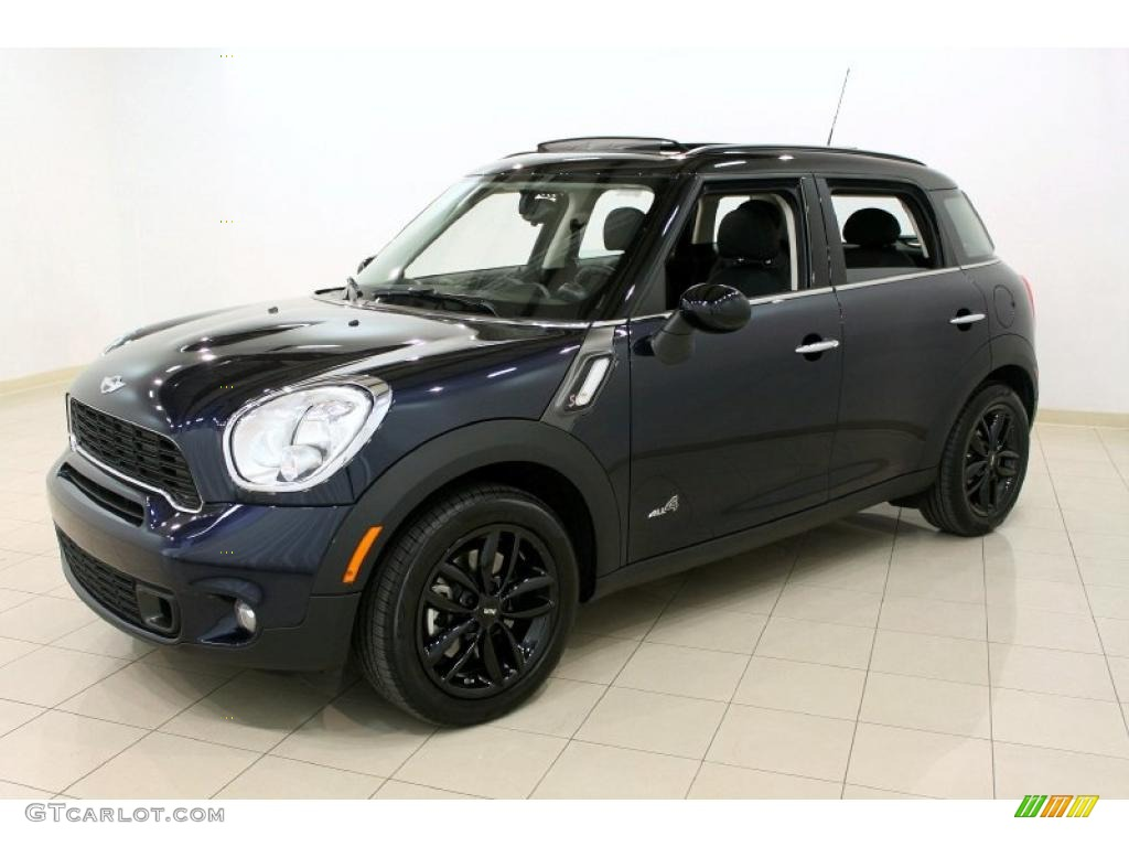 Cosmic Blue 2011 Mini Cooper S Countryman All4 AWD Exterior Photo #49180526