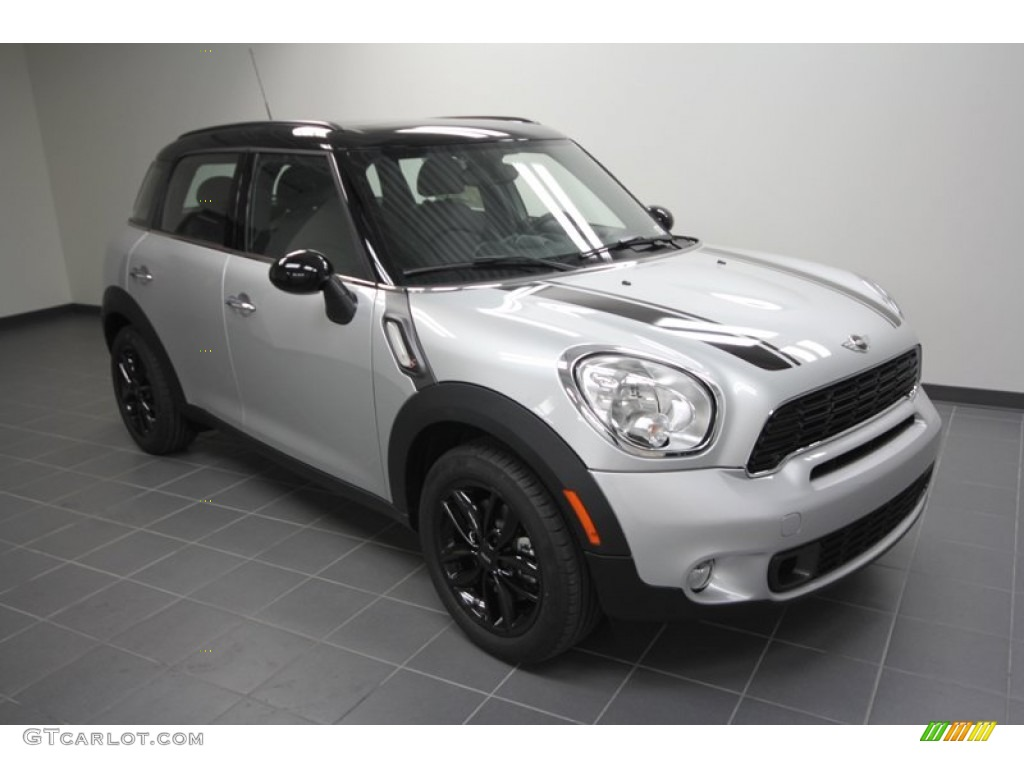 Mini Cooper Countryman Silver