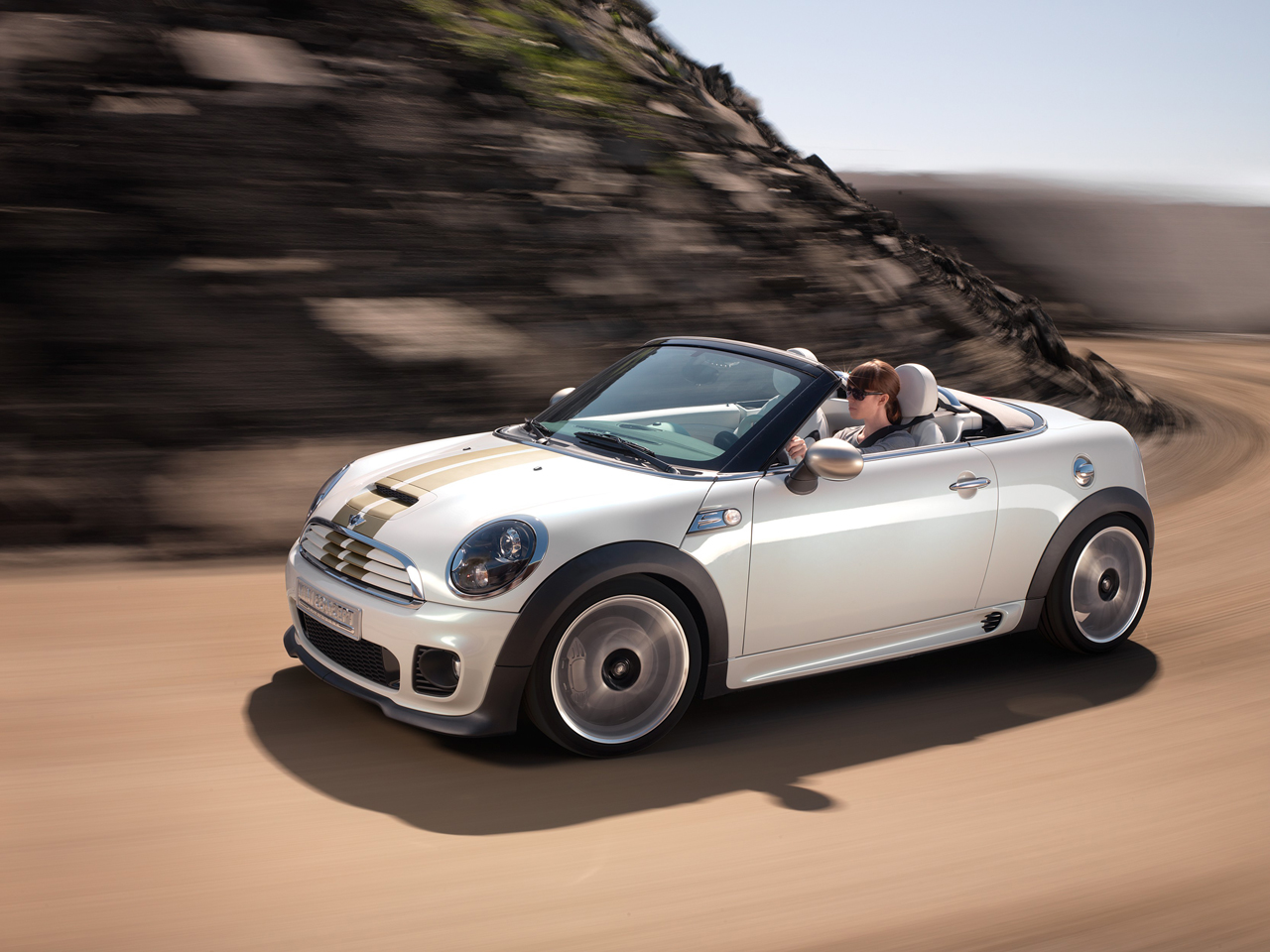 Officially joining the Mini Coupe Concept in Frankfurt is the Mini Roadster Concept. The Mini Roadster is a two-seater with a chopped roofline and a more ...