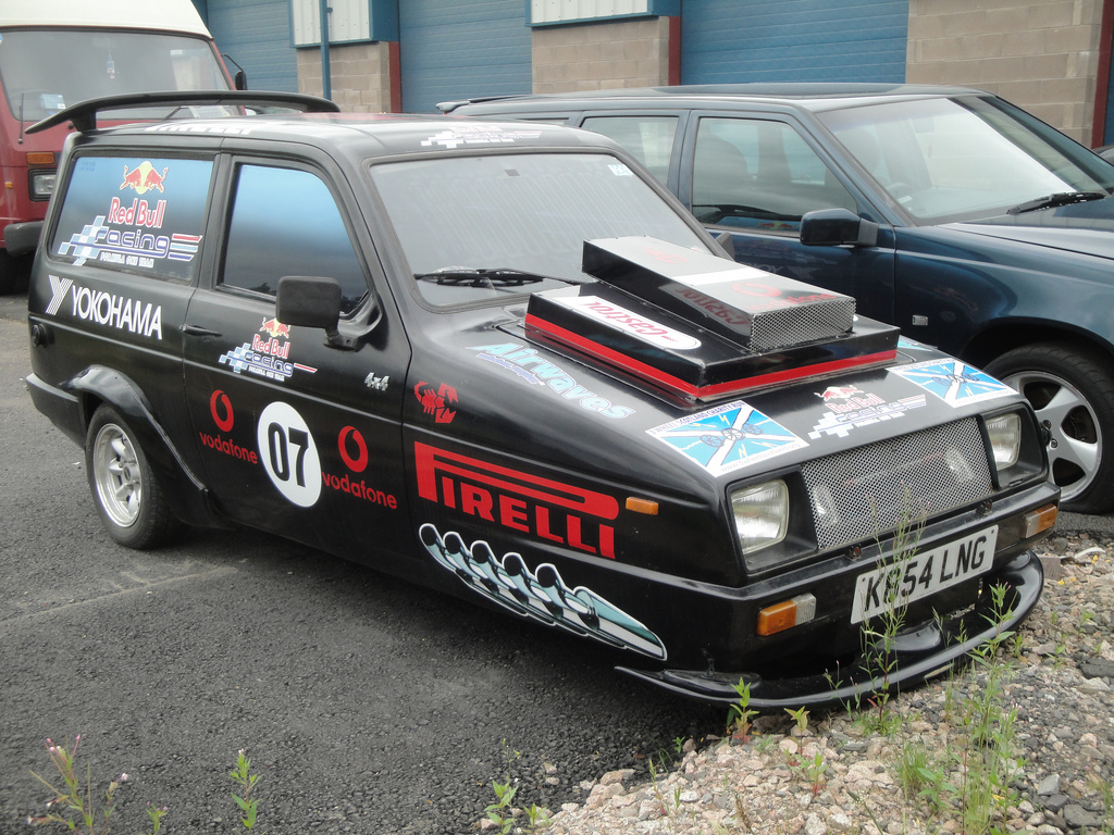 Modified Reliant Robin