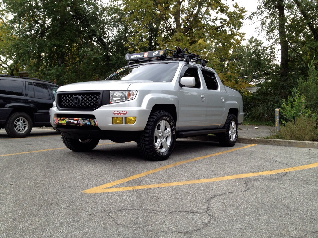 Monster Honda Ridgeline