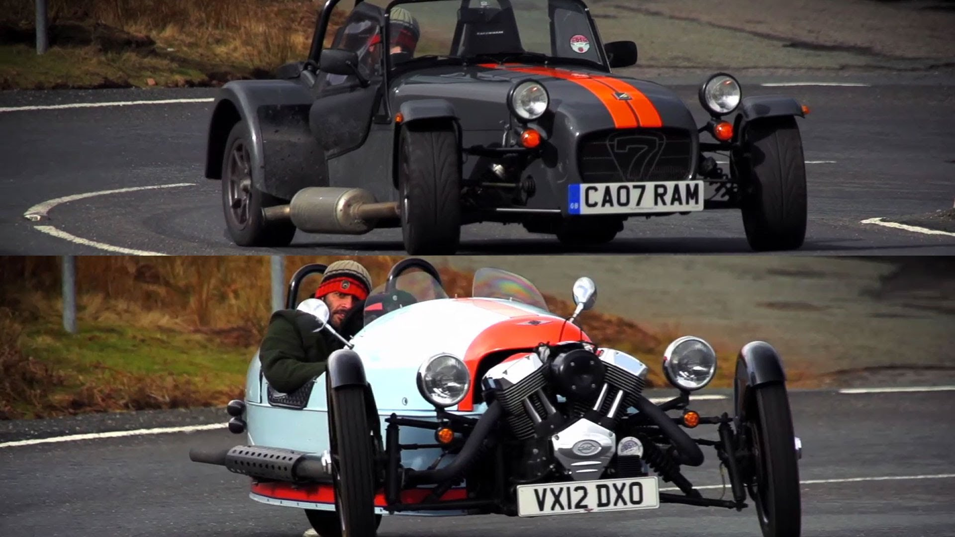 Morgan 3 Wheeler Top Gear