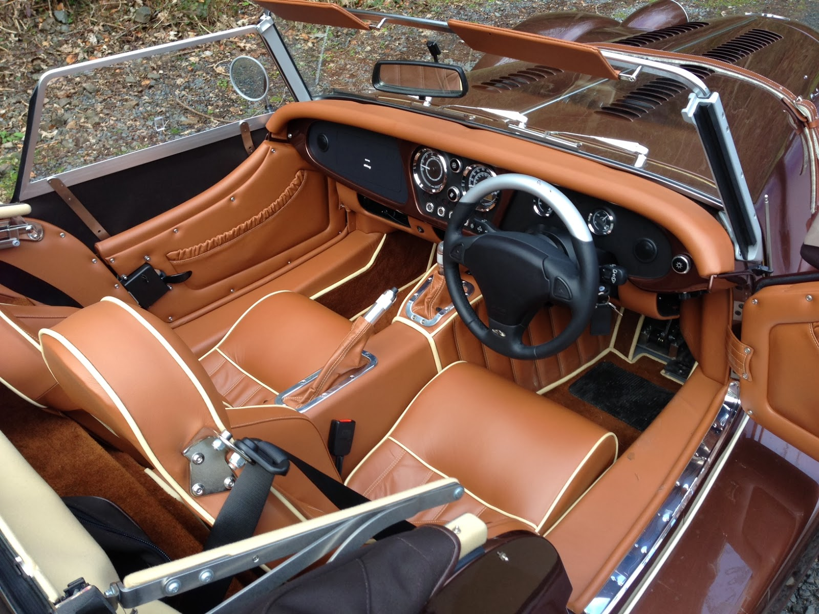 Morgan Plus 8 Interior