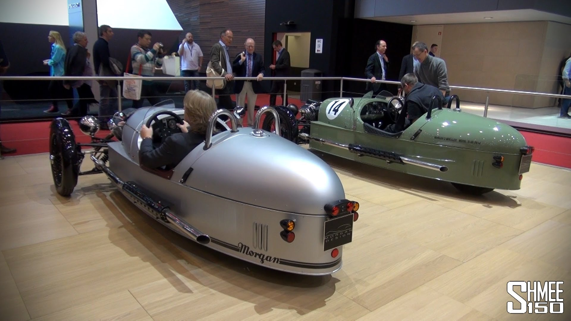 STAND TOUR: Morgan Plus 8, 3 Wheeler, Aero Super Sport at Geneva 2014