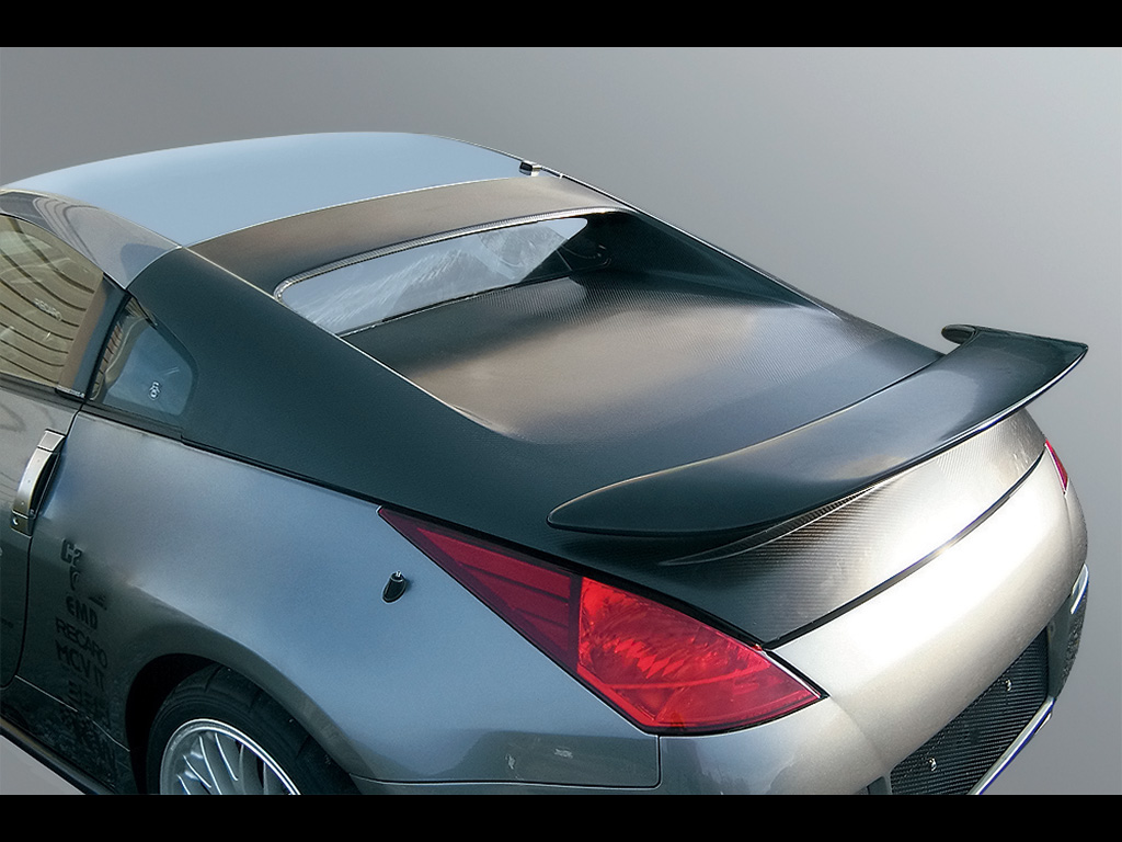 Nissan 350Z Convertible Hardtop wallpaper | 1024x768 | #19467