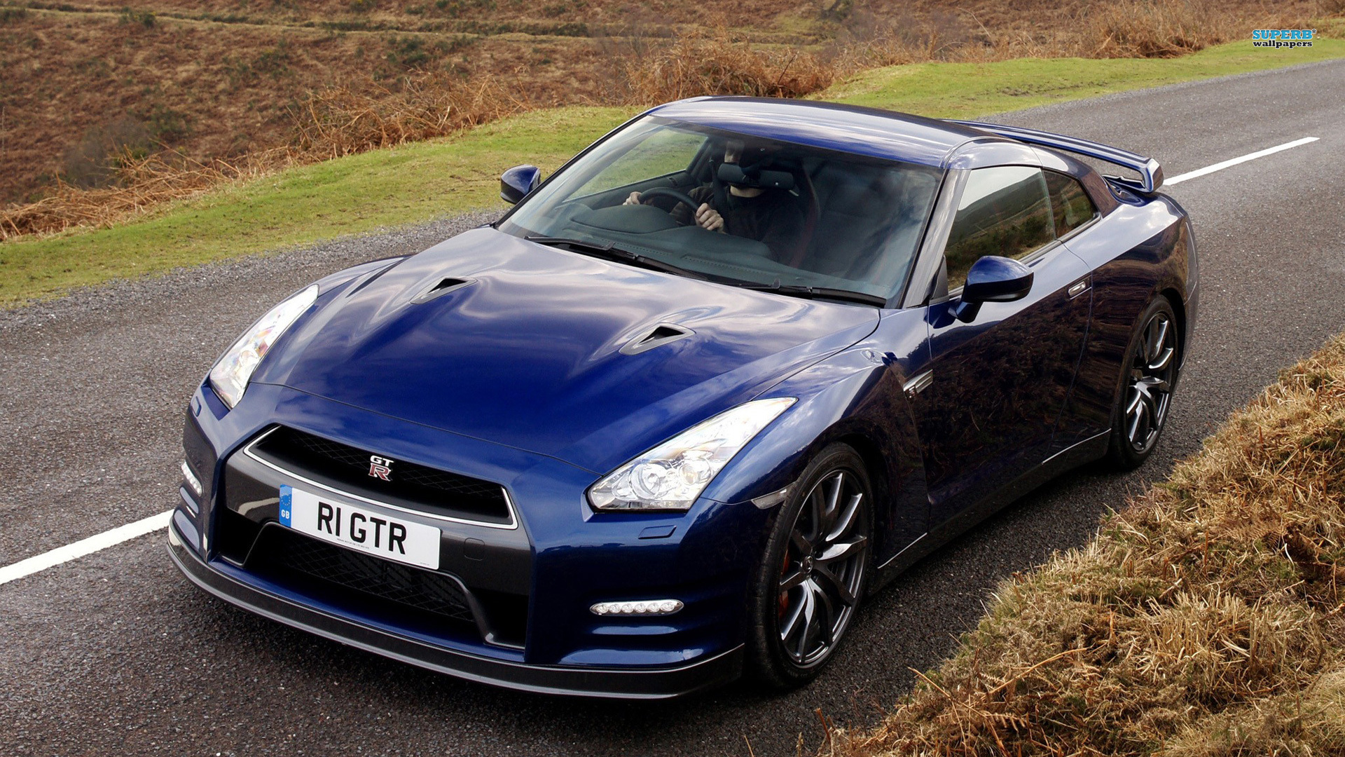 Nissan gt r nismo blue wallpaper 1920x1080 19708