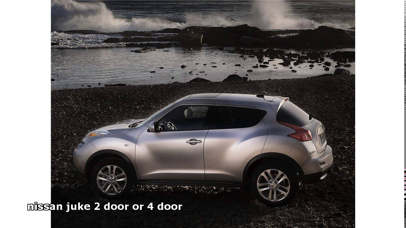 nissan juke 2 door or 4 door