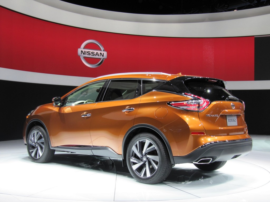 ... 2015 Nissan Murano launch, 2014 New York Auto Show ...