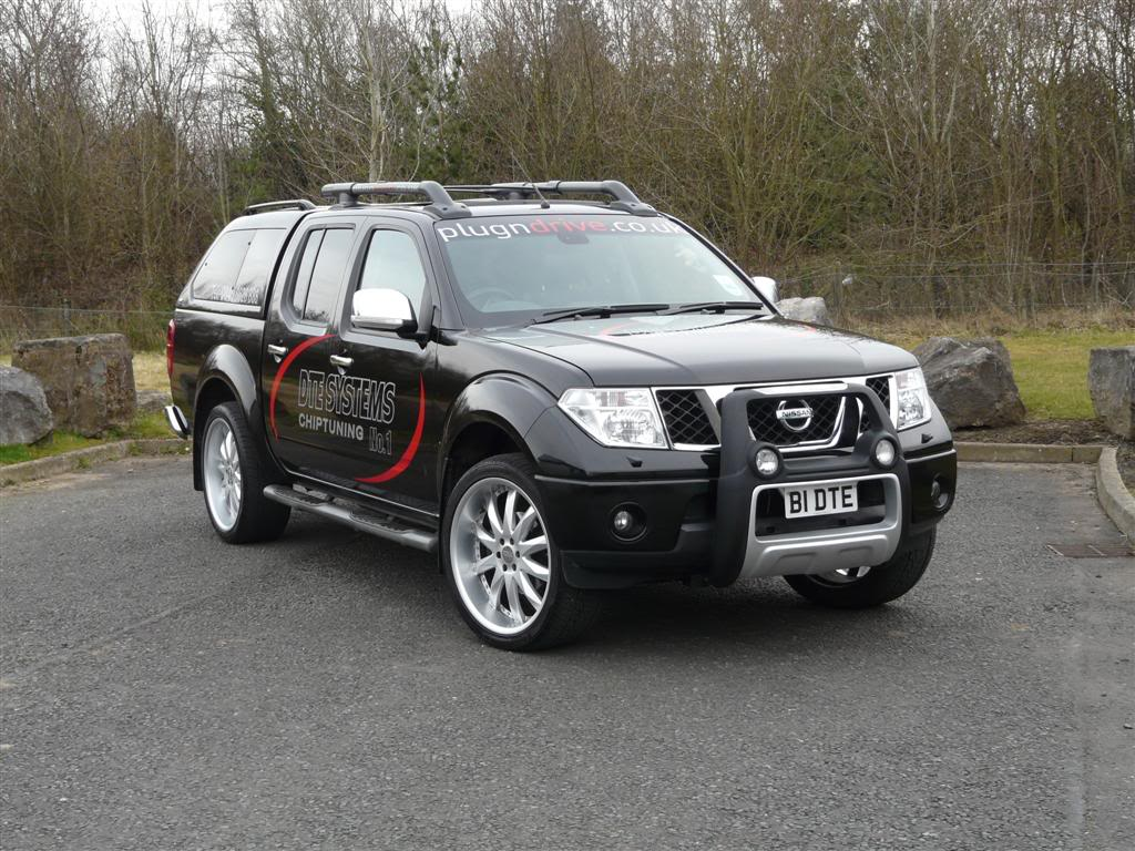 Nissan Navara Modified