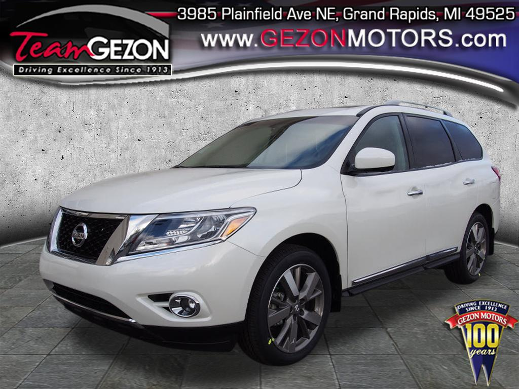 New 2015 Nissan Pathfinder Platinum SUV Grand Rapids