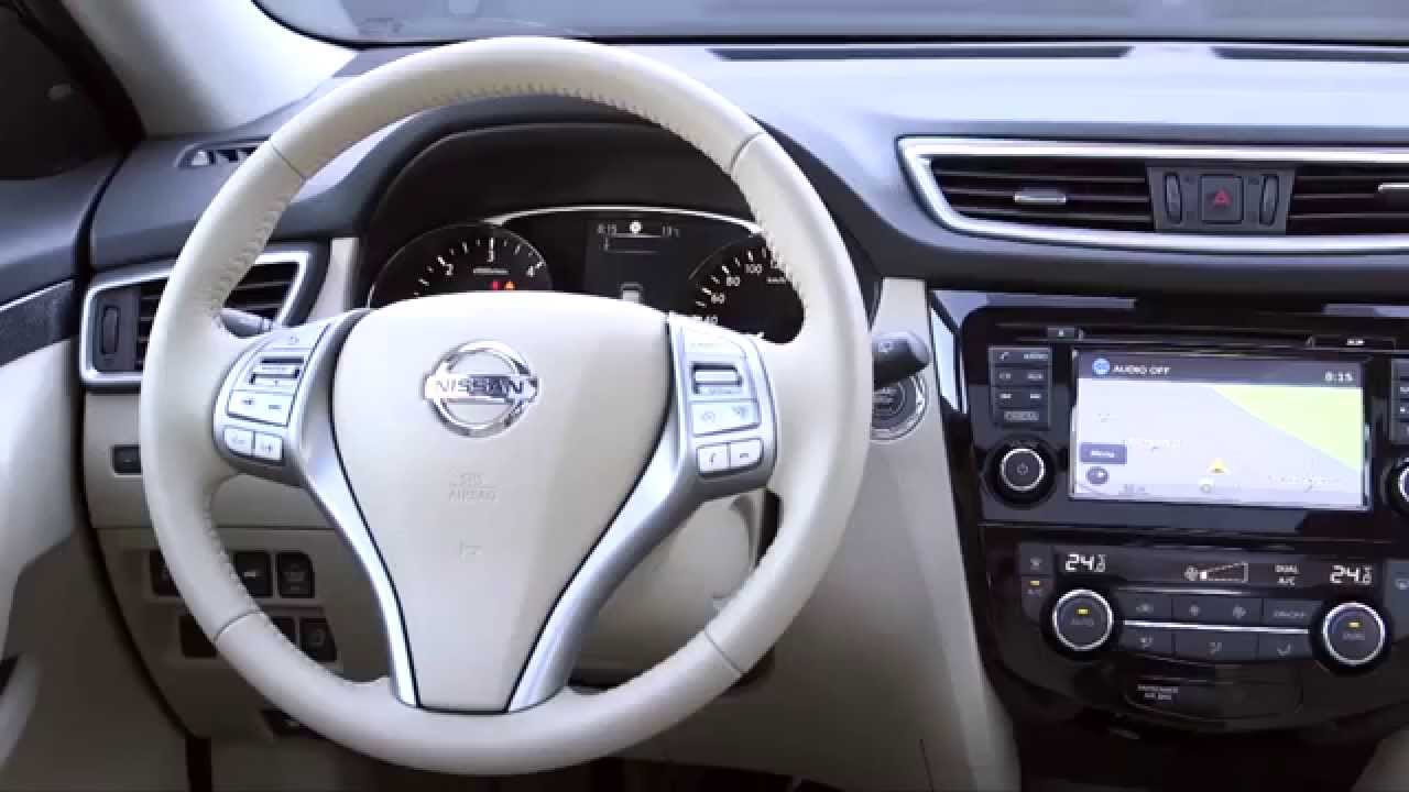 2015 Nissan X-Trail Interior Design Olive