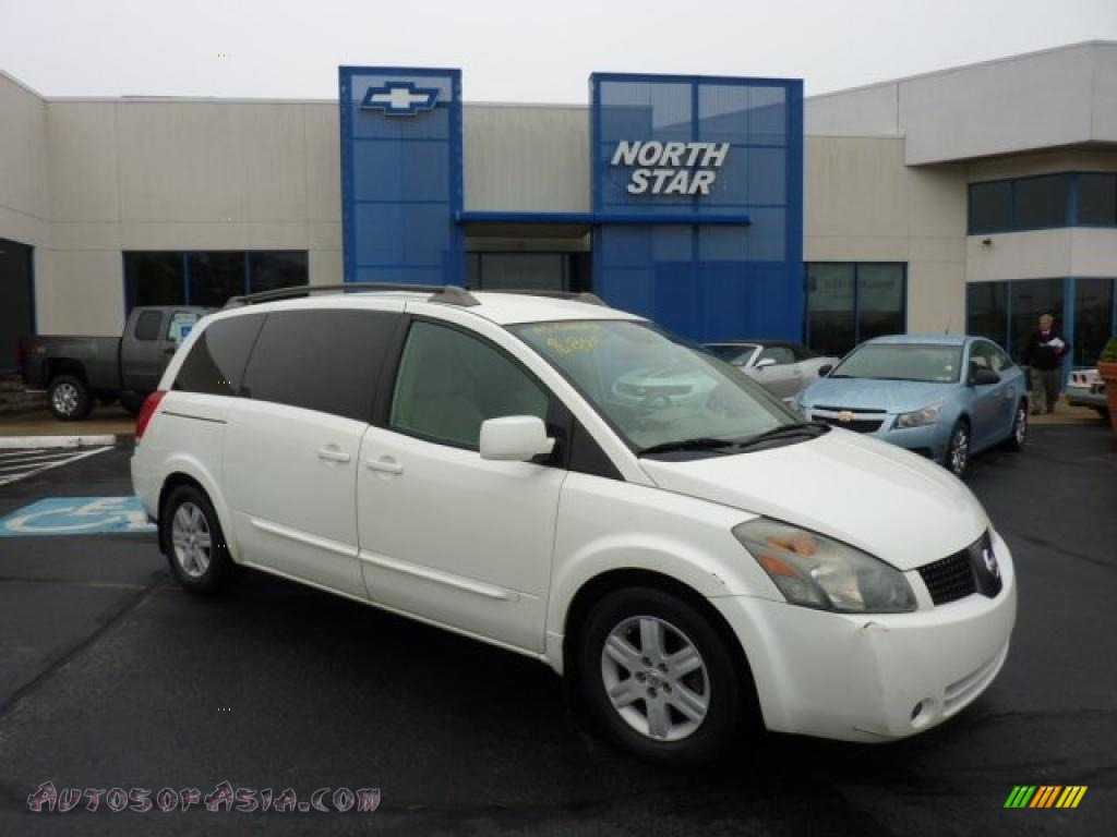 Nissan Quest 2004 White