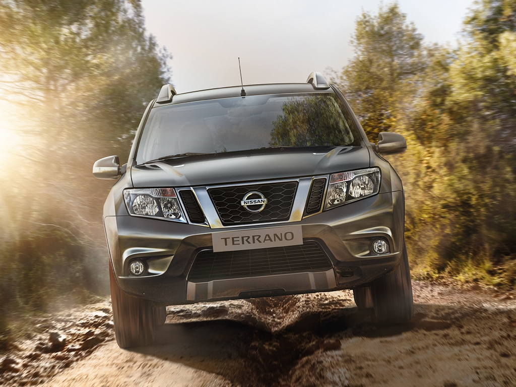 New Nissan Terrano for Russian Market - photo gallery